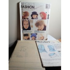 McCalls Sewing Pattern 640