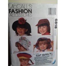 McCalls Sewing Pattern 6818