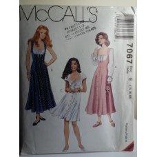 McCalls Sewing Pattern 7067