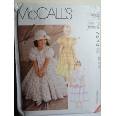 McCalls Sewing Pattern 7513