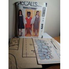 McCalls Sewing Pattern 8179