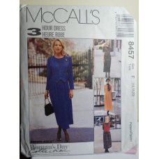 McCalls Sewing Pattern 8457