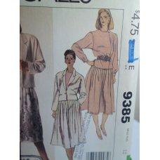 McCalls Sewing Pattern 9385