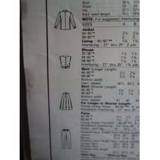 McCalls Sewing Pattern 9429