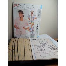McCalls Sewing Pattern 9536