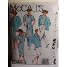 McCalls Sewing Pattern 9565