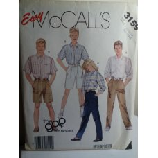 McCalls The Gap Sewing Pattern 3159