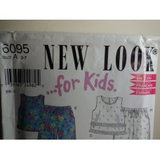 NEW LOOK Sewing Pattern 6095