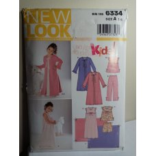 NEW LOOK Sewing Pattern 6334