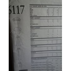 NEW LOOK Sewing Pattern 6117