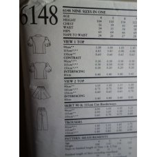 NEW LOOK Sewing Pattern 6148
