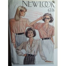 NEW LOOK Sewing Pattern 6316