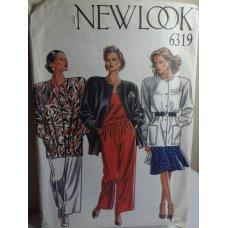 NEW LOOK Sewing Pattern 6319