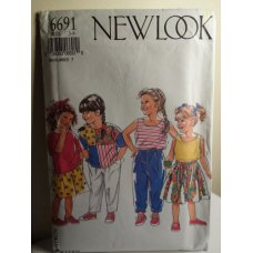 NEW LOOK Sewing Pattern 6691