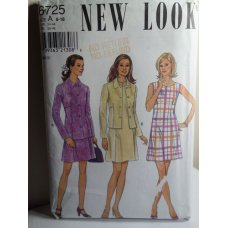 NEW LOOK Sewing Pattern 6725