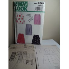 NEW LOOK Sewing Pattern 6843