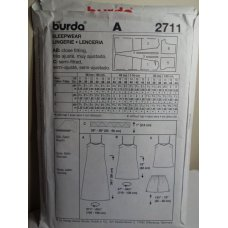 BURDA Sewing Pattern 2711