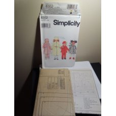 Simplicity Sewing Pattern 8352