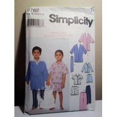 Simplicity Sewing Pattern 9762