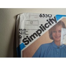Simplicity Sewing Pattern 6550
