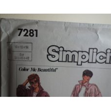 Simplicity Sewing Pattern 7281