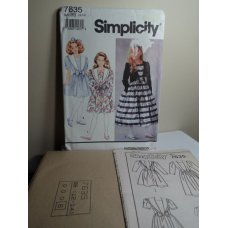 Simplicity Sewing Pattern 7635