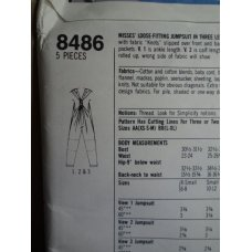 Simplicity Sewing Pattern 8486