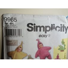 Simplicity Sewing Pattern 9965