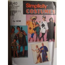 Simplicity Sewing Pattern 0640