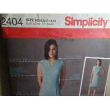 Simplicity Sewing Pattern 2404