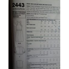Simplicity Sewing Pattern 2443