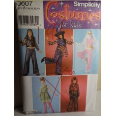 Simplicity Sewing Pattern 3607