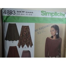 Simplicity Sewing Pattern 4883