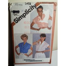Simplicity Sewing Pattern 5451