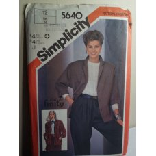 Simplicity Sewing Pattern 5640