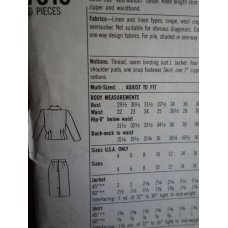 Simplicity Sewing Pattern 7010