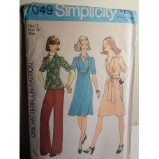 Simplicity Sewing Pattern 7049
