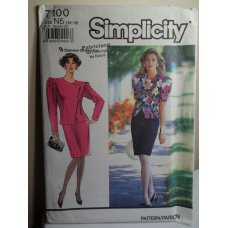 Simplicity Sewing Pattern 7100