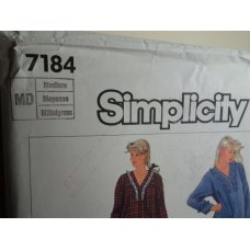 Simplicity Sewing Pattern 7184