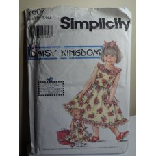 Simplicity Sewing Pattern 7607