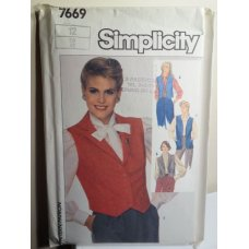 Simplicity Sewing Pattern 7669