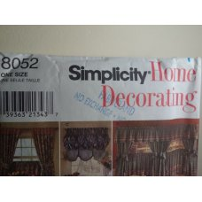 Simplicity Sewing Pattern 8052