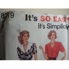 Simplicity Sewing Pattern 8219
