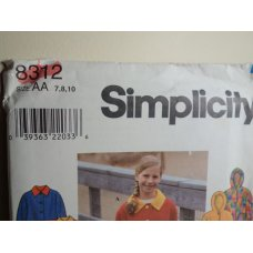 Simplicity Sewing Pattern 8312
