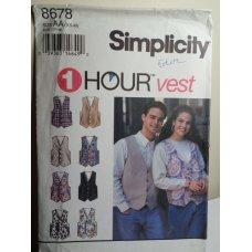 Simplicity Sewing Pattern 8678