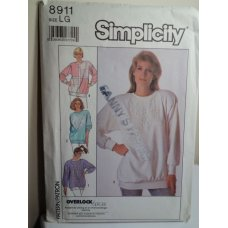 Simplicity Sewing Pattern 8911