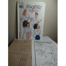 Simplicity Sewing Pattern 9318