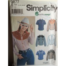 Simplicity Sewing Pattern 9877