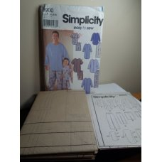 Simplicity Sewing Pattern 9900