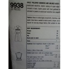 Simplicity Sewing Pattern 9938